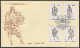 ALBANIA 1990 FAMOUS ILLYRIANS COMPLETE SET GOOD QUALITY - Albania