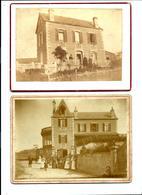 ARROMANCHES - 2 Photos De 1872 Et 1906 - Archive Drucker - Arromanches