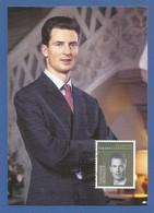 Liechtenstein  2018  Mi.Nr. 1898 , 50. Geburtstag Erbprinz Alois - Maximum Card - Ersttagsstempel Vaduz 11.Juni 2018 - Cartes-Maximum (CM)