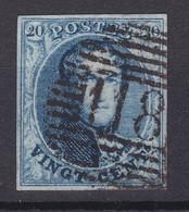 N° 7 Margé 118 TIRLEMONT Papier Parcheminé - 1851-1857 Medallones (6/8)