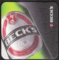 BECK'S / Beer, Bier / Coaster, Mat, Mats / Germany - Bierdeckel