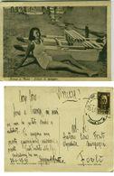 ORTONA A MARE ( CHIETI ) SORRISI DI SPIAGGIA - PIN-UP - ED. BASTI - 1942 (2365) - Chieti