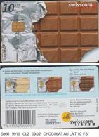 Se66 SUISSE CHOCOLAT LAIT TELECARTE à PUCE  10/1999 - Switzerland