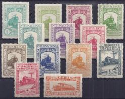 ESPAÑA 1930 - Edifil #469/82 (Falta El Sello 481) - MLH * - Ongebruikt