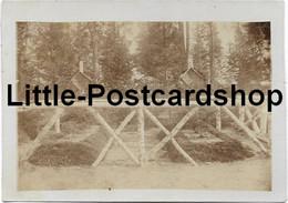 Foto Deutsche Soldatengräber Bei Litowka Russland 1916 Landwehr Inf. Regt. 72  Bei Baranowitschi Weissrussland Friedhof - Guerre 1914-18