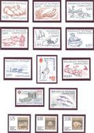 Groenland: Lot 14 Valeurs**; MNH; Cote 46.75€ - Groenland