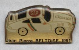 Pin's Porsche Rallye Jean-Pierre Beltoise - Porsche