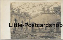 Foto Warteraum Des Bahnhof In Baranowitschi Von Den Russen Verbrannt Weissrussland Russland Ca. 1916 - Guerra 1914-18