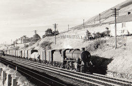 LMS 24298 Train At Tebay Class 2-6-0 Stanier Vintage Railway Photo - Trains