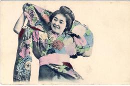"1920'-Giappone Japan Cartolina ""geisha - Japan"