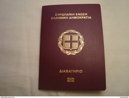 Greece Collectible Expired Biometric Passport Reisepass Passeport Mint Clean Condition - Documents Historiques