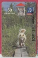 SUEDE--Telecarte 50 Markeringar---Chip SC5 --chien - Suecia