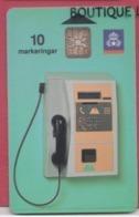 SUEDE--Telefonkort--10 Markeringar--Cabine Téléphonique Chip SC7 - Suède