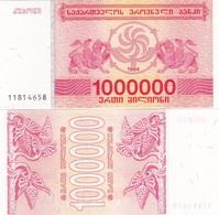 Georgia - 1000000 Kuponi 1994 UNC Ukr-OP - Georgien