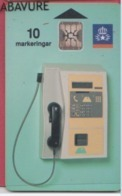 SUEDE--Telefonkort--10 Markeringar--Cabine Téléphonique Chip SC5 - Suecia