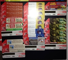 Italy, Italia Rep.- Lot Of 24 Used Pre Paid Phone Cards TELECOM, As Per PictureS- - Italie