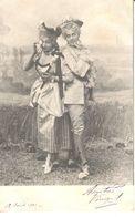 Thèmes - Publicité - Chocolat Oudaille-Lucas - H. Rousseau - Femme - Artiste - Publicité