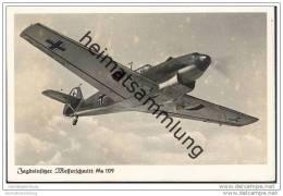 Messerschmitt Me 109 - Jagdeinsitzer - Foto-AK - 1939-1945: 2. Weltkrieg