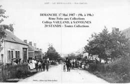 SALONS De COLLECTION - 71 SANVIGNES : 8ème FOIRE Aux COLLECTIONS - Collège Vaillant (REPRODUCTION ) CPM GF Saône Loire - Bourses & Salons De Collections