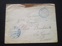"""Enveloppe """"Corps D'Occupation De Madagascar"""" 04/12/1902 - Vieux Papiers"""