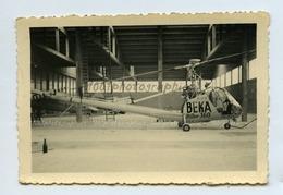 Hélicoptère. Hiller 360 De La Cie Beka, Annotations Au Dos Voir Scan. - Fotos