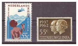 NUOVA GUINEA OLANDESE - 1959 + 1962 - DUE VALORI. MH* - Nuova Guinea Olandese