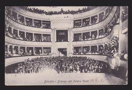 Brindisi - Interno Del Teatro Verdi - Brindisi
