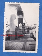 Photo Ancienne Snapshot - à Bord Du Paquebot Gouverneur Général LEPINE - Bateau à Vapeur Boat - Schiffe