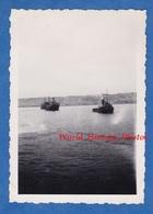 Photo Ancienne Snapshot - Arrivée Du Paquebot Gouverneur Général LEPINE à ALGER - Bateau à Vapeur Boat - Boats