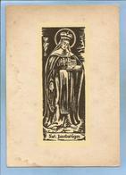 Sw. Jadwiga Slaska (Andechsie Andechs 1178-1180 - Trzebnica (Trebnitz) 1243) 2 Scans St. Hedwig Ste Edwige - Poland