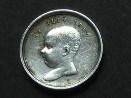 Médaille En Argent - BAPTÊME PRINCE IMPERIAL R/ NAPOLEON III EUGENIE 14 JUIN 1856  **** EN ACHAT IMMEDIAT **** - Royal / Of Nobility