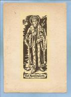Sw. Kazimierz Jagiellonczyk (Krakowie Krakow 1458 - Grodnie Grodno Gardinas Grodne 1484) 2 Scans - Polen