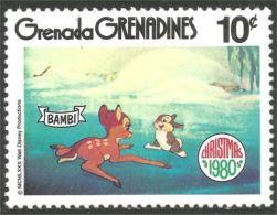 462 Grenada Disney Bambi Lapin Rabbit Hare Hase Conejo Coniglio Kaninchen MNH ** Neuf SC (GRG-84c) - Konijnen