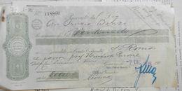 7) BUONO POSTALE FRUTTIFERO LIRE 100 1943 REGNO D'ITALIA GENOVA FORMATO CONSUETE PIEGHE MA BUON ESEMPLARE - Non Classificati