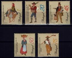Portugal 1995 - Trachten - MiNr 2069-2073 - Kostüme