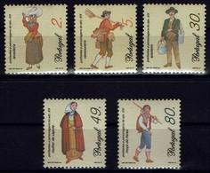 Portugal 1997 - Trachten - MiNr 2178-2182 - Kostüme