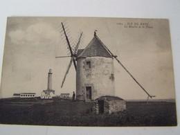 T81 ILE DE BATZ Le Moulin Et Le Phare - Ile-de-Batz