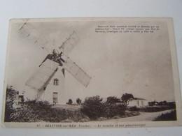 T81 BEAUVOIR SUR MER Le Moulin Et La Vue Panoramique - Beauvoir Sur Mer