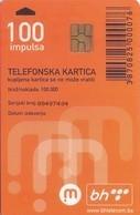 TARJETA TELEFONICA DE BOSNIA Y HERZEGOVINA. (516) - Bosnia