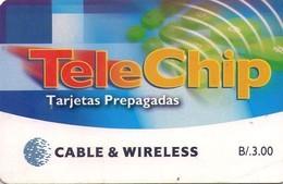 TARJETA TELEFONICA DE PANAMA (CHIP). PAN-C&W-76 (036) - Panamá