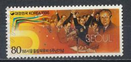 °°° SOUTH KOREA COREA - Y&T N°1329 - 1986 °°° - Corea Del Sud