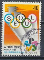 °°° SOUTH KOREA COREA - Y&T N°1126 - 1981 °°° - Corea Del Sud