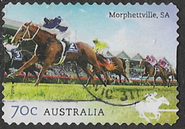 Australia 2014 Horse Racing 70c Type 3 Self Adhesive Good/fine Used [38/31137/ND] - 2010-... Elizabeth II