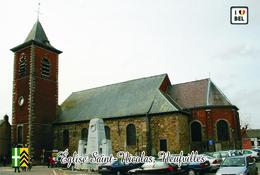 Carte Postale, églises, Churches In Belgium (Hainaut), Neufvilles (Soignies), Église Saint-Nicolas - Churches & Cathedrals