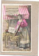 CPA COLORISEE FETE - 1er AVRIL -  Portrait D'une Belle Femme Et Son Poisson   - BARA** - - Erster April