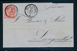 Schweiz-alter Beleg-Stempel..... (oo3862 ) Siehe Scan - 1862-1881 Helvetia Sentada (dentados)