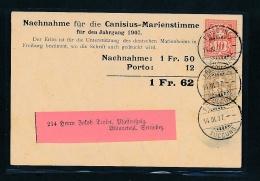 Schweiz-alter Beleg-Stempel..... (oo3872 ) Siehe Scan - 1882-1906 Coat Of Arms, Standing Helvetia & UPU