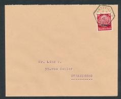 Lothringen -Stempel Beleg  (ze9022  ) Siehe Scan - Occupation 1938-45