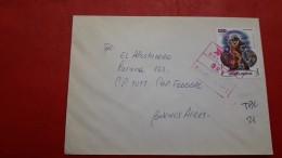 L'Argentine Enveloppe Un Courrier Privé A Scellé Le Tango - Argentinië