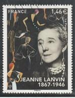 FRANCE 2017JEANNE LANVIN OBLITERE - YT 5170 - Used Stamps